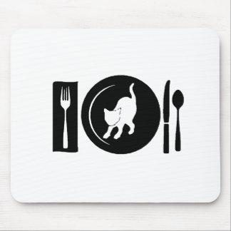 I eat ... mouse pad