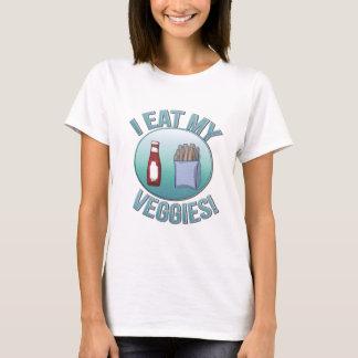 I Eat My Veggies Ladies Shirt