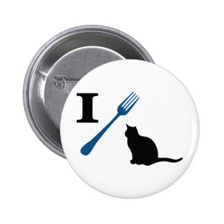 I Eat Pussy Cats 2 Inch Round Button