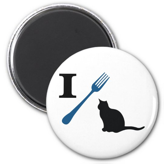 I Eat Pussy Cats Magnet