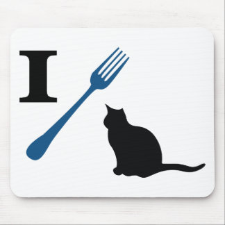 I Eat Pussy Cats Mouse Pad