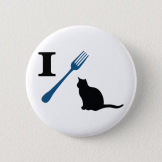 I Eat Pussy Cats Pinback Button