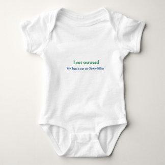I Eat Seaweed Baby Bodysuit