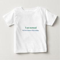 I Eat Seaweed Baby T-Shirt