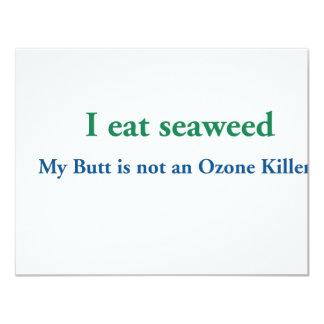I Eat Seaweed Card