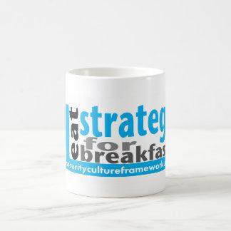 I eat strategy for breakfast - mug
