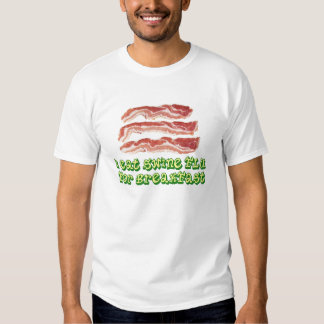 i eat swine flu for breakfast t shirts