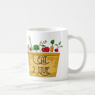 I Eat to Live Mug