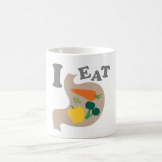 I Eat Vegetables Mugs