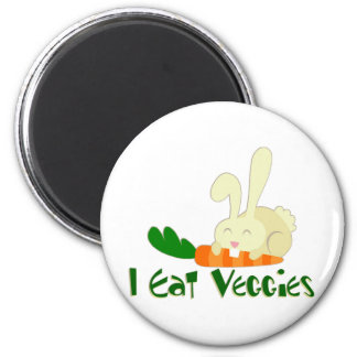 I Eat Veggies Magnet