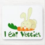 I Eat Veggies Mousepad