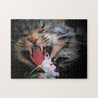 I eated your flowers! by djoneill jigsaw puzzle