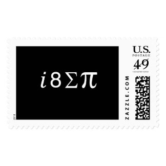 I Eight Sum Pi Postage
