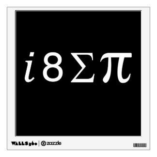 I Eight Sum Pi Wall Sticker