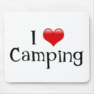 I el acampar del corazón tapetes de ratones