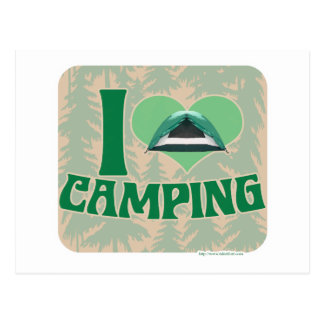 I el acampar del corazón postal