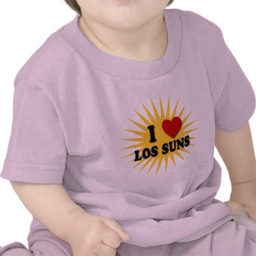 I el amor Los de los soles I del Los del corazón Camiseta