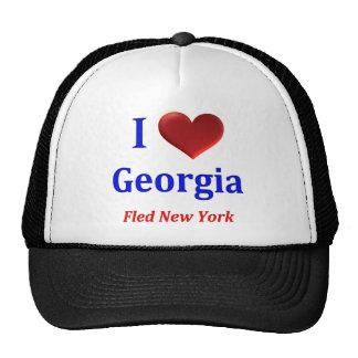 I el corazón Georgia huyó de Nueva York Gorra