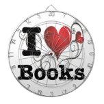 ¡I el corazón reserva los libros del amor de I! Co Tablero De Dardos