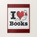 ¡I el corazón reserva los libros del amor de I! Co Rompecabezas Con Fotos
