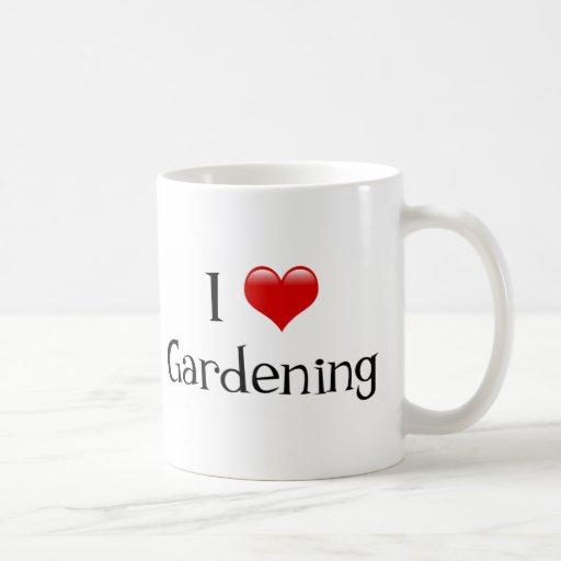 I el cultivar un huerto del corazón taza