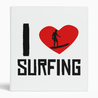 I el practicar surf del corazón