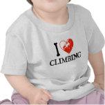 I el subir del corazón - chica camisetas