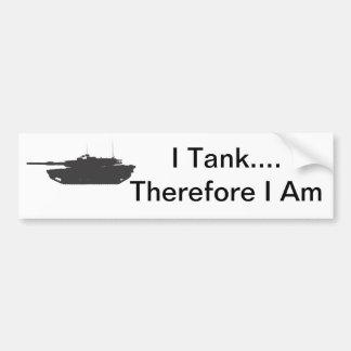 I el tanque… Por lo tanto soy pegatina para el par Pegatina Para Auto