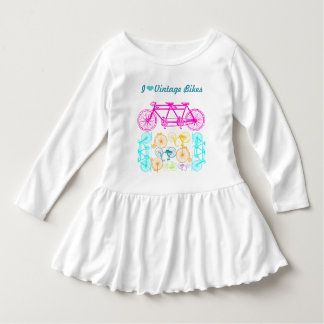 I el vintage del corazón monta en bicicleta la t-shirts