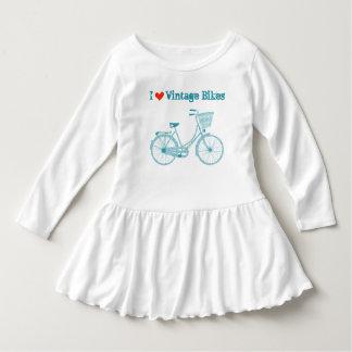 I el vintage del corazón monta en bicicleta la tee shirt