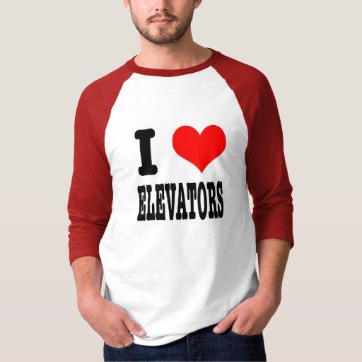 I ELEVADORES DEL CORAZÓN (AMOR) PLAYERA