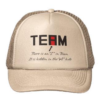 I en equipo gorras