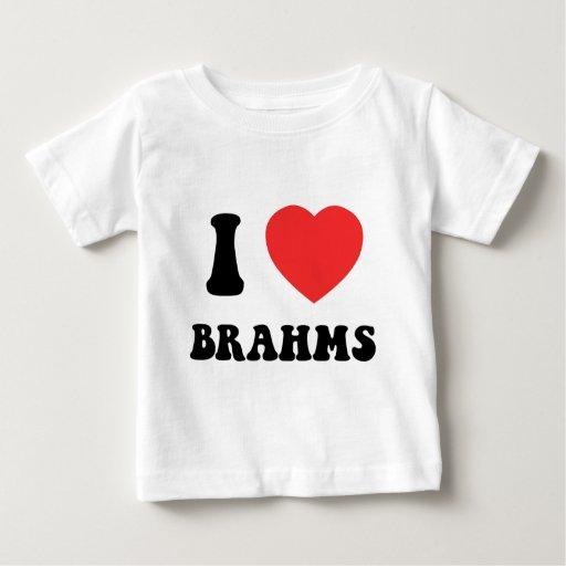 I engranaje de Brahms del corazón Playera De Bebé