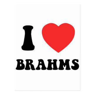 I engranaje de Brahms del corazón Tarjetas Postales