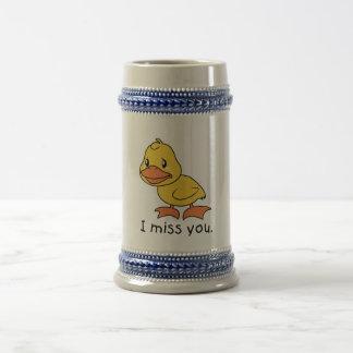 I envoltura de la taza del pato de Srta. You