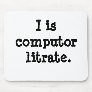 ¡I es litrate del computor - cita computacional lo Tapete De Ratón