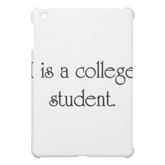 I es un estudiante universitario