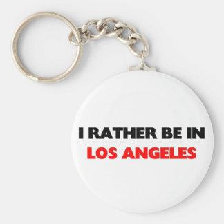 I esté bastante en Los Ángeles Llavero Redondo Tipo Pin