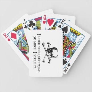 I estola él baraja de cartas