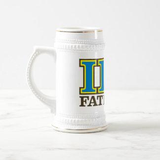 ¡I Eta pi - FATernity Stein/taza! Jarra De Cerveza