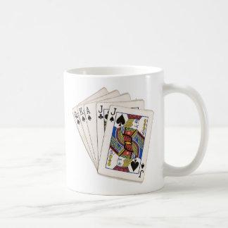 I Euchre del corazón Tazas De Café