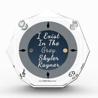I Exist In The Grey by Skyler Rayner Acrylic Award