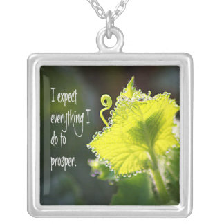 I Expect Everything I Do To Prosper Pendant