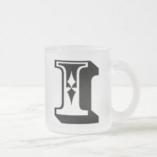 i Eye Alphabet Letter Word Text Tee Mug