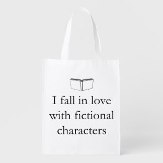 I Fall in Love with Fictional Characters Market Tote