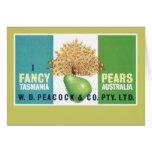 I Fancy Pears Card
