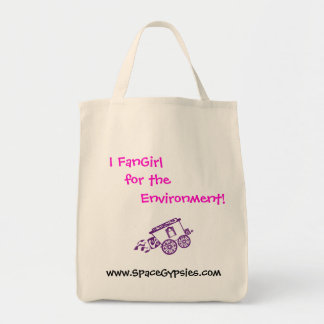 I FanGirl for the Environment! Tote Bag