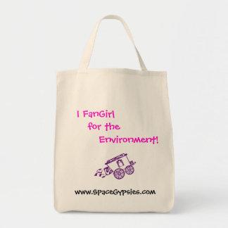¡I FanGirl para el ambiente! Bolsa Tela Para La Compra