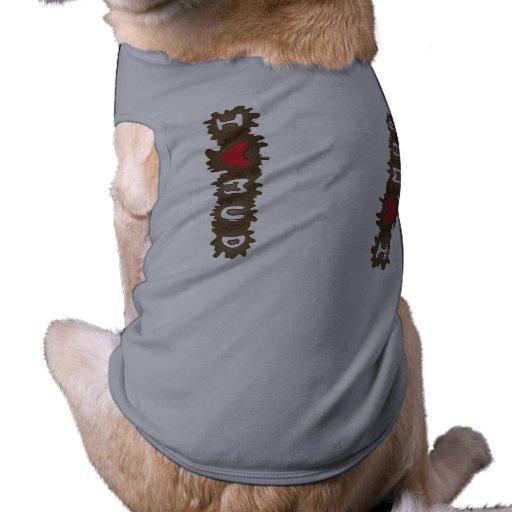 I fango del corazón camisas de perritos