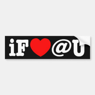 I Fart at You Bumper Sticker